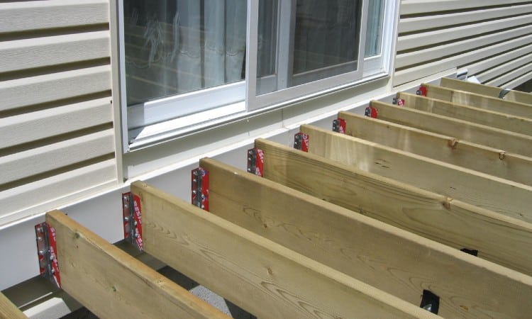What size boards for deck floor