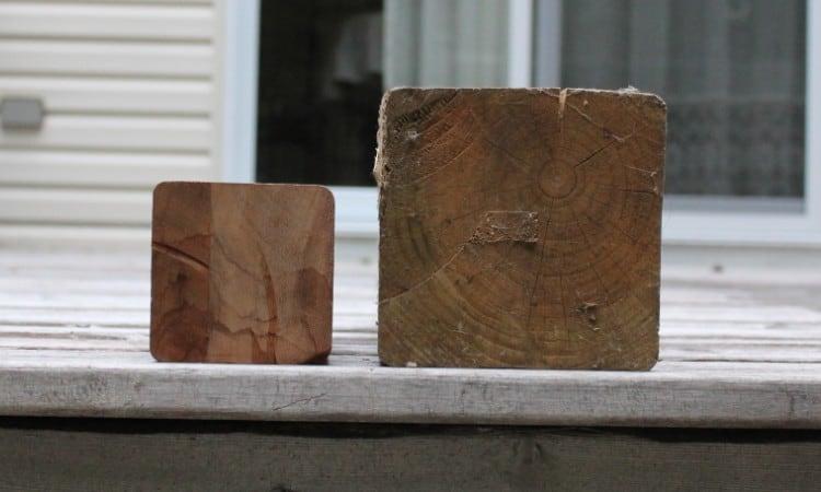 4x4 vs 6x6 Deck Post