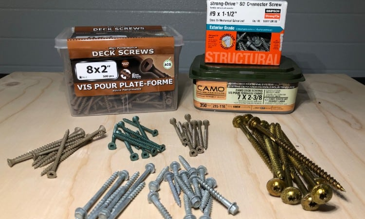 Best deck screws