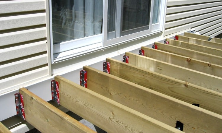 Deck framing screws