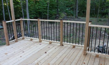 Railing Post Spacing