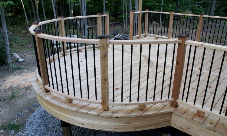 Cedar vs Pressure Treated Deck