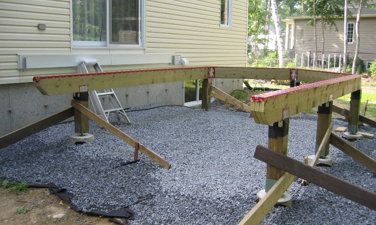 Deck Beam Spacing