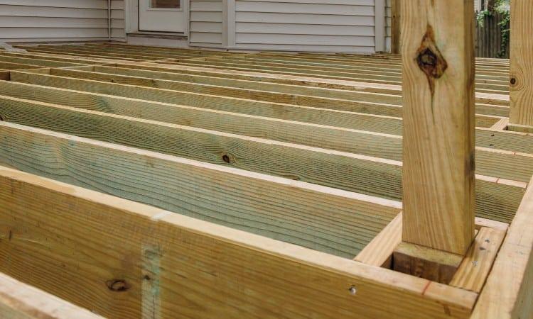 Deck Post Installation Options