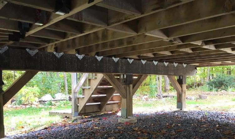 Deck beam connectors