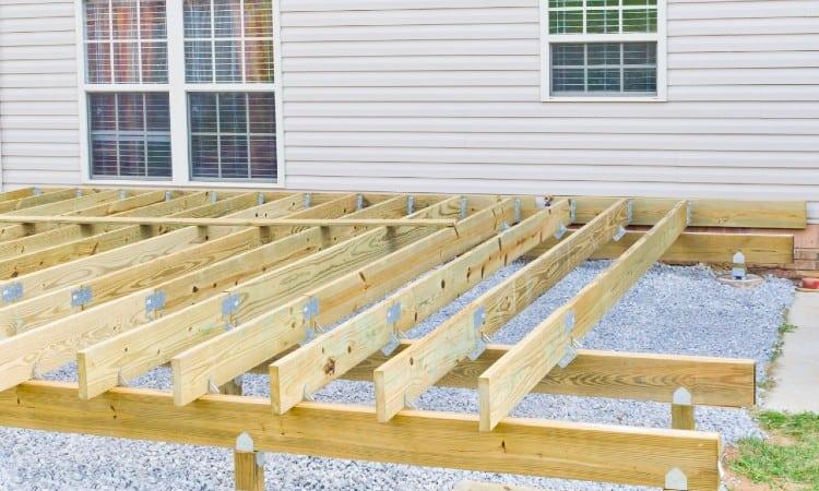 Deck joist span