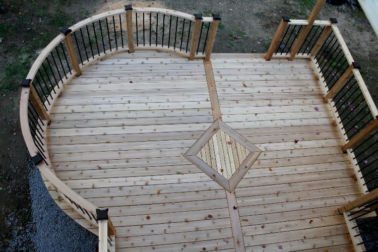 How to install deck boards