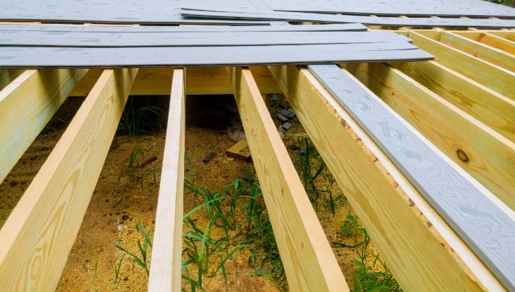 what is joist spacing for trex decking