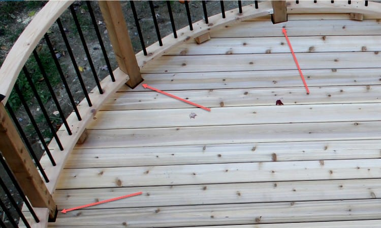 Which way should my decking go