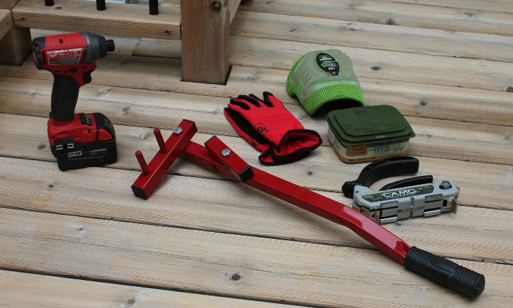 Best Deck Board Straightening Tool