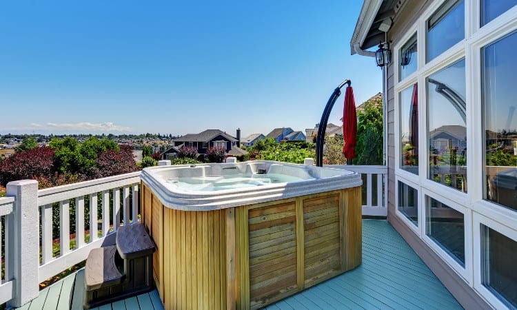 Can You Put A Hot Tub On A Deck