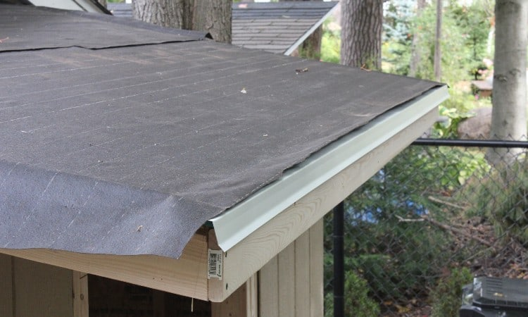 How to install tar paper