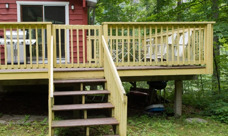 How to Repair Rotted Deck Post