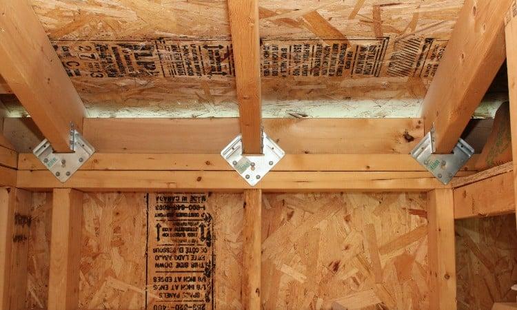 Hurricane rafter ties