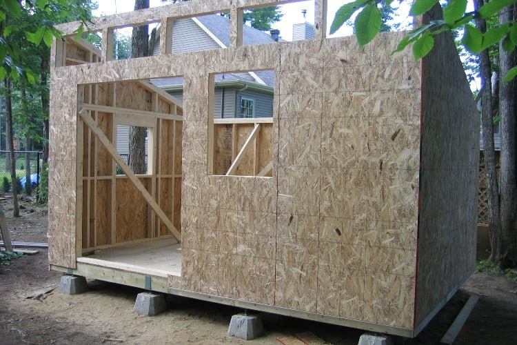 How to protect osb from rain