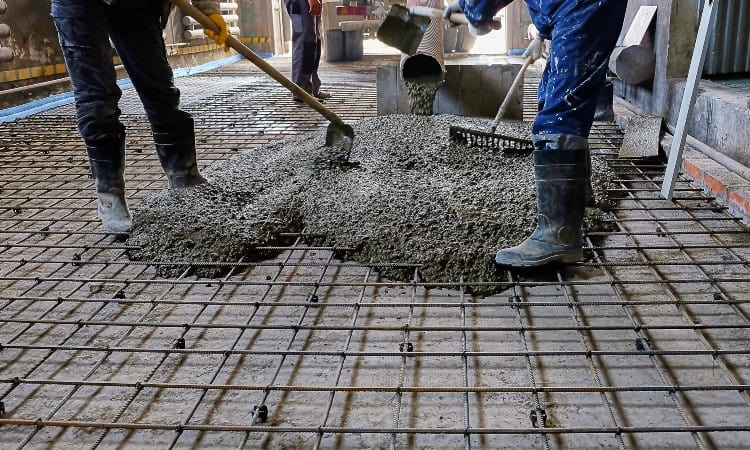 How Thick Should A Concrete Patio Slab, Patio Concrete Thickness