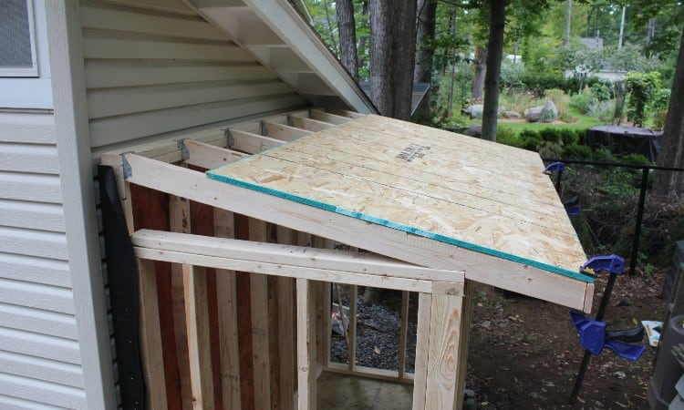 Roofing sheathing thickness