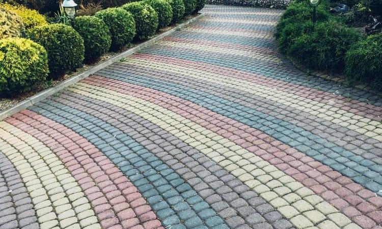 Concrete vs paver patio