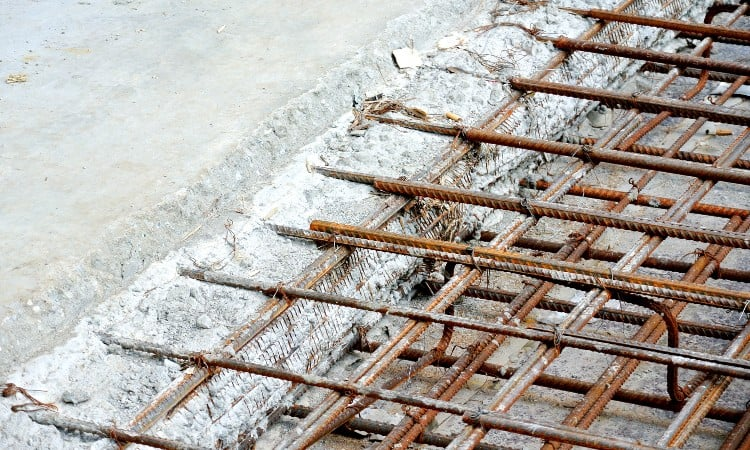 Why is rebar used in concrete