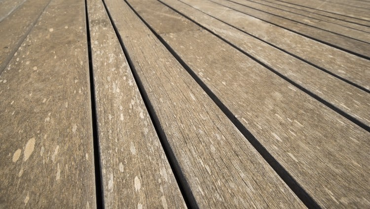 Can you stain composite decking