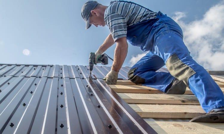 DIY metal roof over shingles