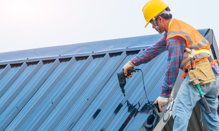 Installing metal roof over shingles