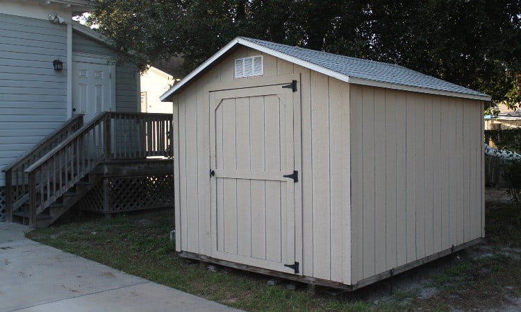 Rent to own a storage building
