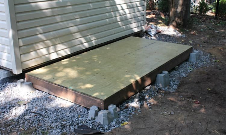 Build a shed cheaply