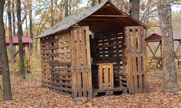 Cheapest way to build a shed
