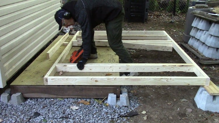 How to build a cheap shed