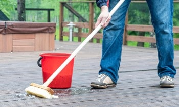 Cleaning Composite Decking