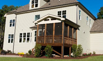 Roof Over Deck