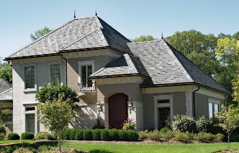 Measuring roofs for shingles
