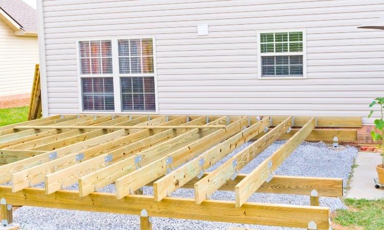 Building Cheap Deck