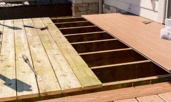 Composite Decking Over Wood Deck