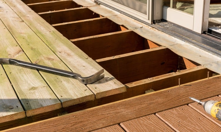 Resurfacing Existing Deck With Composite